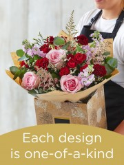 Hand-tied Bouquet £55